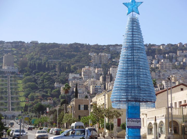 2_recycled-tree-haifa-bottles