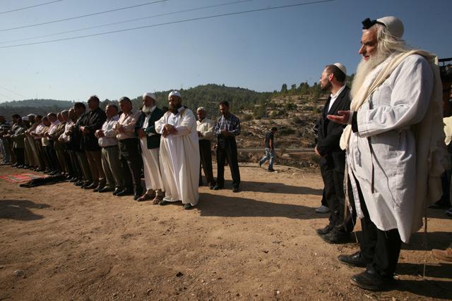 Zsidók és palesztinok együtt imádkoztak esőért