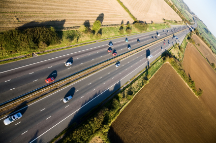 Áramot termel az autópálya