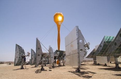 Az első napelemes-hibrid erőművet hamarosan átadják